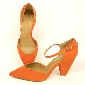 ASOS Speakeasy Ankle Strap Heels 7 EC60